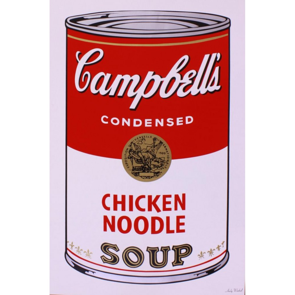WARHOL ANDY - CHICKEN NOODLE SOUP