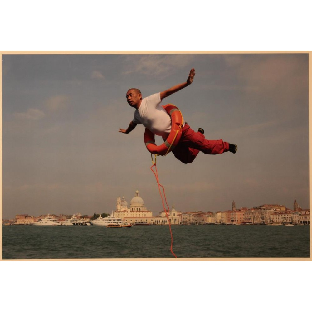 LI WEI - 3318 FLYING OVER VENICE